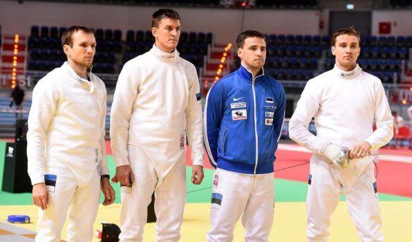Vasakult: Jüri Salm, Sten Priinits, Marno Allika, Nikolai Novosjolov. Foto: Augusto Bizzi