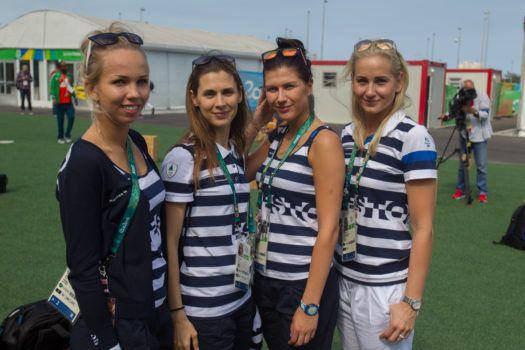 Vasakult: Erika Kirpu, Irina Embrich, Julia Beljajeva, Kristina Kuusk. Foto: Viljar Voog/Õhtuleht